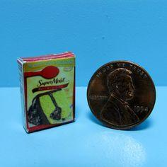 Dollhouse Miniature Replica Box of Kraft Macaroni /& Cheese ~ G043