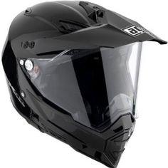 AGV Solid AX-8 Dual Sport Dirt Bike Motorcycle Helmet