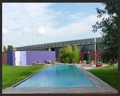 Harms & Müller Pool mit Salzelektrolyse Anlage  & Outdoordusche  Salzwasser Pool