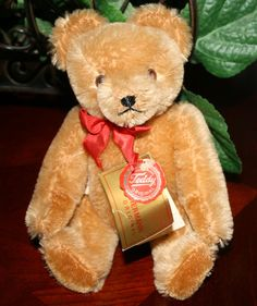 Original Vintage Hermann Teddy Bear by BeAnnsAttic on Etsy