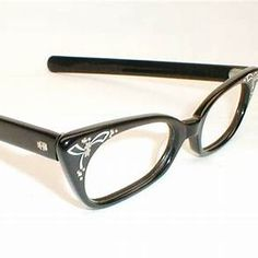 5239c3682d7 Flair Eyeglass Frames with Rhinestones