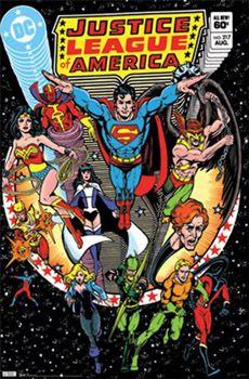 Justice League of America #217 (Aug. 1983) DC Comics Cover Poster Reprint - Trends International