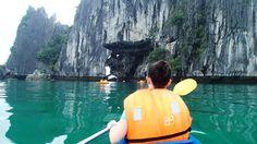 Kayaked #HalongBay #Vietnam Ha Long Bay, Stuff To Do, Kayaking, Vietnam, Kayaks