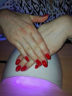 #nails #red #rednails #mywork