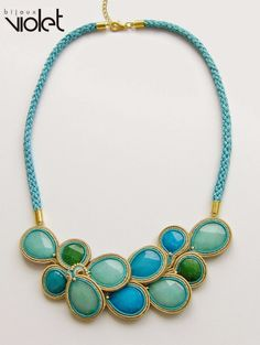 biZSUterie: Soutache necklace