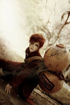 AMAZING cosplay ll Naruto ll Sand Siblings: Gaara