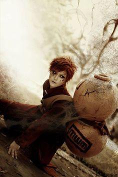 AMAZING cosplay ll Naruto ll Sand Siblings: Gaara