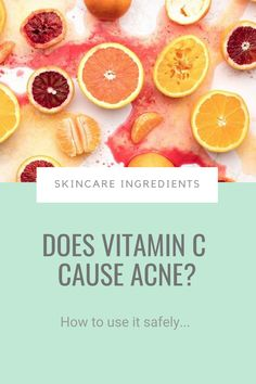 You've heard this powerful antioxidant brightens skin and keeps wrinkles at bay and you're dying to add it to your skincare routine ASAP. But you're worried your oily, acne-prone skin won't be able to take it. Well here's what the science says... #vitaminc #acne How To Get Rid Of Acne, How To Treat Acne, Acne Prone Skin, Skin Brightening, Skincare Routine, Vitamin C, Science, Skin Care, Skins Uk