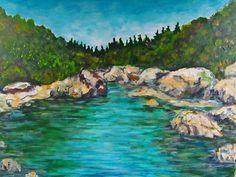 GALERIA PALOMO MARIA LUISA: PAISAJE SERRANO...CORDOBA Water, Painting, Outdoor, Art, Canvases, Paintings, Cordoba, Paisajes, Gripe Water
