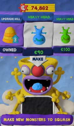 FREE TODAY ONLY Clay Jam - a quirky modeling clay game (best Android kids apps)