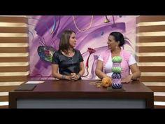 Mulher.com - 14/03/2016 - Colete em crochê - Noemi Fonseca PT1 - YouTube
