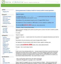 http://blog.achille.name/wp-content/uploads/2017/08/sante-j-achille-blog-2006.png Un Nuovo Look per un Nuovo Inizio? Lo Spero! - Finalmente volto pagina! un nuovo look per riprendere il mio cammino e condividere riflessioni ed opinioni da questo blog. Almeno lo spero. Dopo ilterremoto del 2009ho scritto poco, distratto da problemi importanti, ma adesso è tutto alle spalle – mi sono rifatto il look! Lo so...  - http://blog.achille.name/?p=5785
