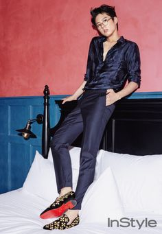 Reply 1988 actor Park Bo Gum InStyle Magazine October 2015 Photoshoot  HOT HOT HOT