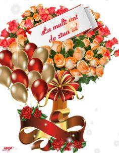 Birthday Wishes, Happy Birthday, Table Decorations, Home Decor, Happy Aniversary, Homemade Home Decor, Happy Brithday, Urari La Multi Ani, Interior Design