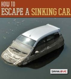 Escape a Sinking Car: What To Do When You're Submerged