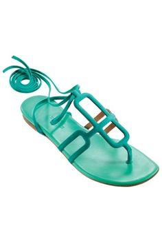 hermès flat sandals