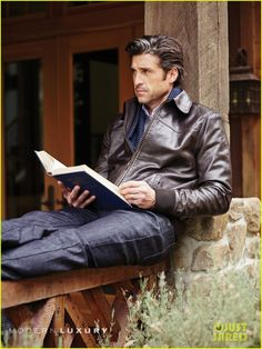 Patrick Dempsey Describes His Audition For 'Grey's Anatomy' & His First Read with Ellen Pompeo!: Photo Patrick Dempsey looks suave and as handsome as ever on the cover of Manhattan magazine's October 2014 issue. Hot Men, Hot Guys, Sexy Men, Patrick Dempsey, Alyson Hannigan, Matthew Mcconaughey, Grey's Anatomy, Mode Masculine, Celebrities Reading