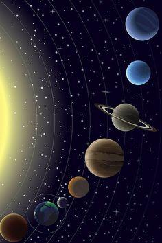 Wallpaper Pc, Galaxy Wallpaper, Arte Do Sistema Solar, Gods And Goddesses, Stars And Moon, Night Skies, Lightning, Planets, Clouds