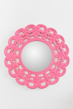 Carved Medallion Wall Mirror Online Only