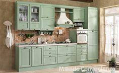 cucina carmen in verde