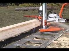 Image result for how to make a chainsaw mill