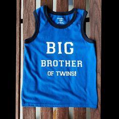 Custom order Big Brother shirt.