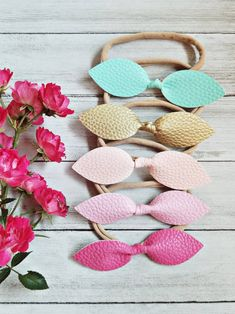 Nylon Baby HeadbandsHandmade AccessoriesFeathersDeerBaby Shower Gifts