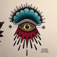 New eye tattoo traditional tatoo Ideas Flash Art Tattoos, Body Art Tattoos, Hand Tattoos, Tatoos, Tribal Tattoo Designs, Tattoo Designs And Meanings, Arm Tattoo, Sleeve Tattoos, Skink Tattoo