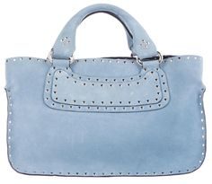 Cline Boogie Biker Rivet Studs Sky Blue Celine Tote Bag. Get one of the hottest styles of the season! The Cline Boogie Biker Rivet Studs Sky Blue Celine Tote Bag is a top 10 member favorite on Tradesy. Save on yours before they're sold out!
