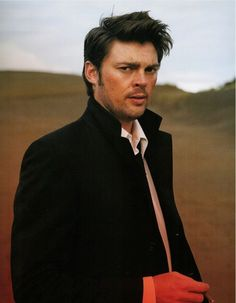 "Karl Urban. I always forget his name, but I love him! I usually lovingly refer to him as ""YOU KNOW! THE DOOM GUY!!!"""