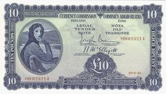 1940 £10 Currency Commission (front) Unc