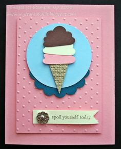 stampin up build a cupcake