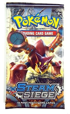 awesome       £3.49  Pokemon Trading Card Game, Steam Siege Booster Pack, 10 Additional Cards  B01JITBZ48 ...  Check more at http://fisheyepix.co.uk/shop/pokemon-trading-card-game-steam-siege-booster-pack-10-additional-cards/