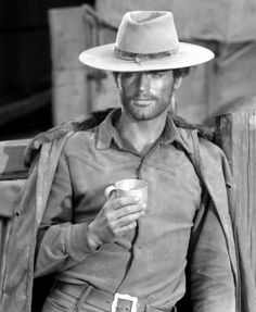 """Giuseppe Mario Girotti (Venice, 29 March 1939) is an Italian actor. Terrence Hill action and westerns with partner Bud Spencer. He made famous by the character Trinity (""""The right hand of the Devil""""). Among his most famous westerns there is also Il mio nome è Nessuno, which was Henry Fonda partner. More recently she played the comic book hero Lucky Luke."""
