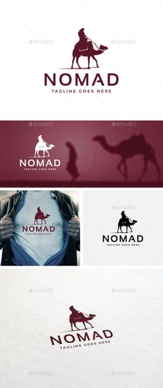 Nomad Logo Template — Photoshop PSD #profesional #nomad • Available here → https://graphicriver.net/item/nomad-logo-template/10951567?ref=pxcr