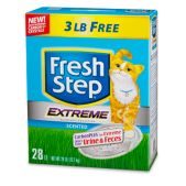 Fresh Step® Scoopable Clumping EXTREME Odor Control - Influenster.com