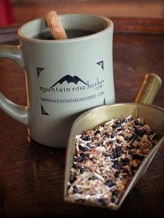 Winter Wellness Tea - eleuthero root, ginger root, elderberries, cinnamon chips, rose hips - Mountain Rose Herbs