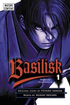 Basilisk The Kouga Ninja Scrolls by Masaki Segawa, Futaro Yamada 0345482700 9780345482709 Samurai Anime, The Devil's Advocate, Viz Media, Star Crossed, Every Day Book, Manga Covers, Comic Page, Best Selling Books, Guardians Of The Galaxy