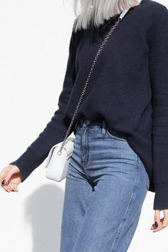All blue & Cropped flares