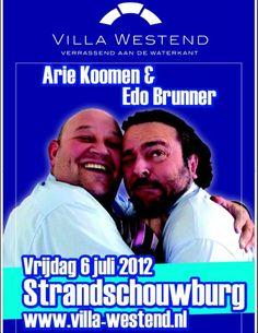 Villa Westend strandschouwburg - Arie Koomen en Edo Brunner