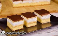 Hamis francia krémes recept fotóval Weight Watchers Desserts, Diy Food, Tiramisu, Cheesecake, Ethnic Recipes, Mac, Cheesecakes, Tiramisu Cake, Cherry Cheesecake Shooters