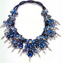 The Duchess of Windsor's Sapphire Necklace by Cartier