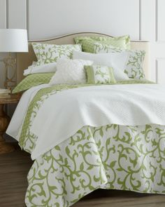 """""""Serendipity"""" Bed Linens - Horchow"""