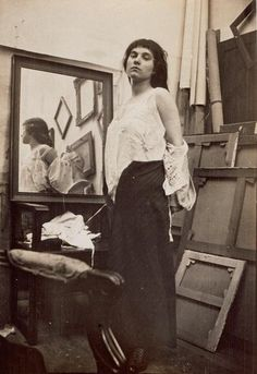 Model in Pierre Bonnard's studio, 1916. Paris, Musée d'Orsay. http://www.pinterest.com/203marina/pierre-bonnard/