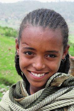 Shepherd Girl, Aksum, Ethiopia