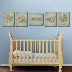 Dinosaur Art Decor Nursery Baby Boy Wall Boys Room Print