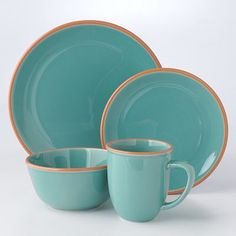 Bobby Flay Turquoise Dinnerware Collection