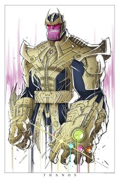 Thanos by Rob Dueñas