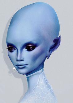 Pleiadian (blue)