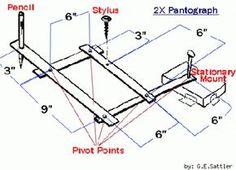 Como hacer pantografo casero
